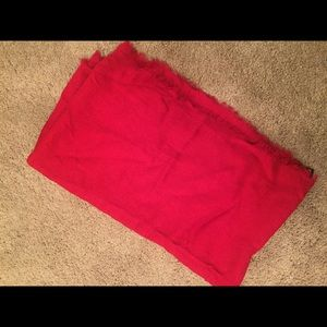 NWOT Red infinity scarf